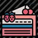 baker, beverage, cake, dessert, slice, wedding