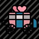 antique, carriage, transport, wedding