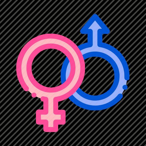 female, gender, male, sign, wedding icon