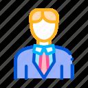 bridegroom, character, man, silhouette icon