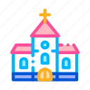 building, ceremony, church, wedding icon