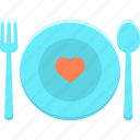 cooking, cutlery, fork, kitchen, knife, restaurant icon