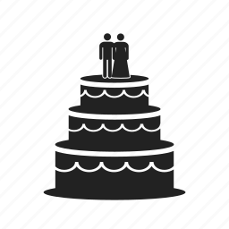 biscuit, bride, cake, cooking, dinner, food, groom, pastry, restaurant, sweetness, wedding icon