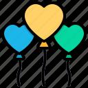 balloon, celebration, birthday, decoration, balloon air