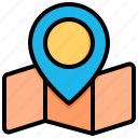 location, map, pin, navigation, gps, direction, place