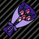 bunch, floral, flower, wedding, spring, bouquet, blossom