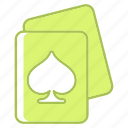 card, poker, spades icon