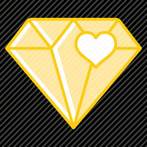 award, diamond, gemstone, gift, stone icon