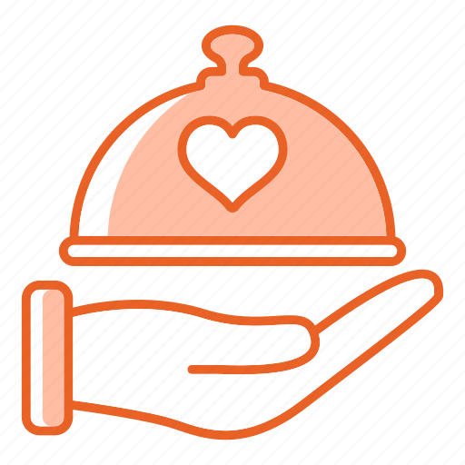 dish, dome, food, kitchen, restaurant icon
