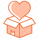 box, gift, surprise icon