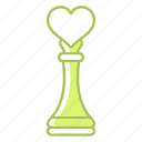 heart, love, plan, strategy, wedding icon