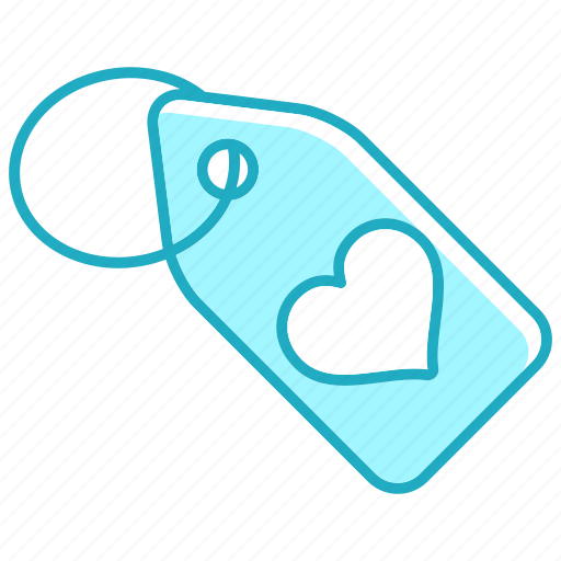 heart, sale, shopping, tag icon