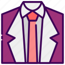clothing, fashion, married, suit, valentine, wedding icon