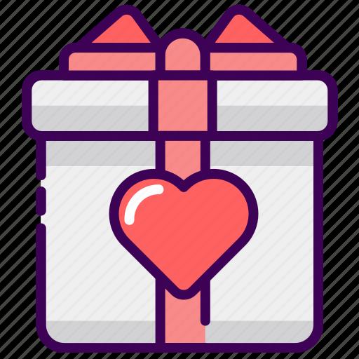 birthday, gift, married, valentine, wedding icon