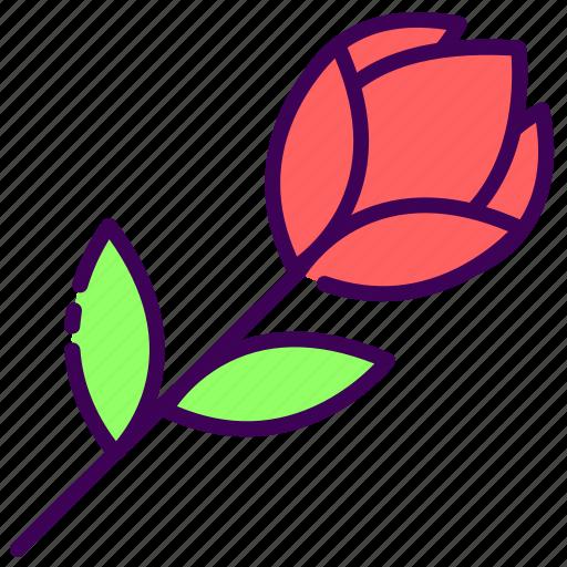 flower, married, rose, valentine, wedding icon