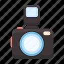 camera, flash, photo, photography, shooting, snapshot icon