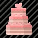 cake, cream, dessert, food, sweetness, treat, wedding