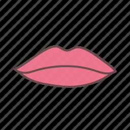 beauty, lip, lips, lipstick, makeup, mouth icon