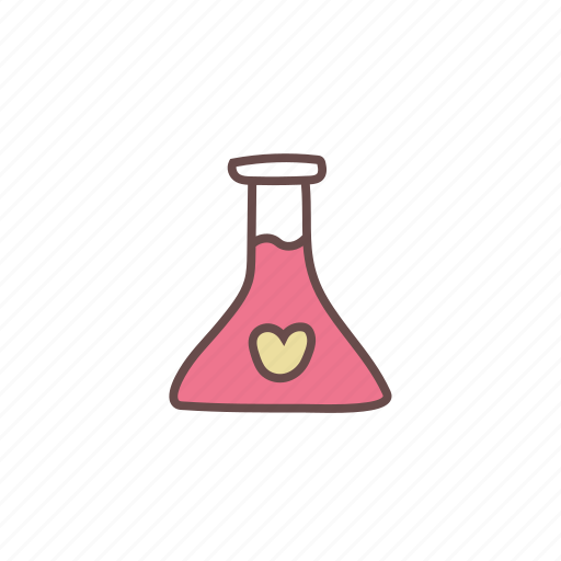 chemistry, laboratory, love, romance, romantic, science icon