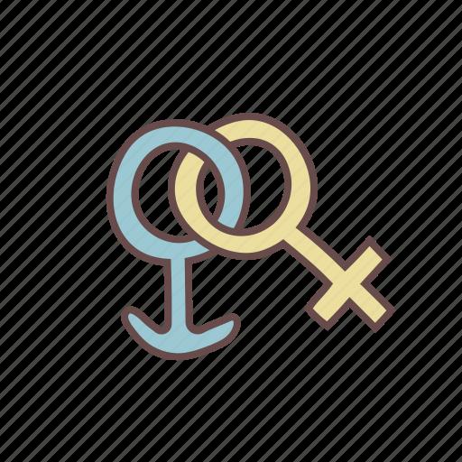 couple, marriage, men, partner, sign, symbol, women icon