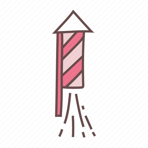 fireworks, launch, missile, petards, rocket icon