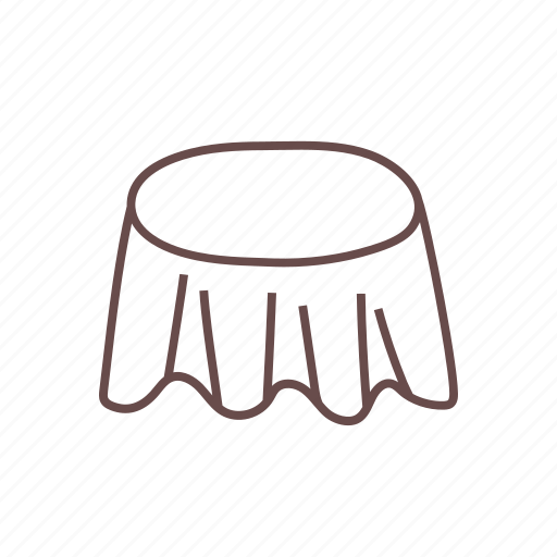cocktail, dining, furniture, table icon