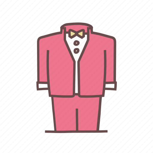 attire, formal, groom, suit, tux, tuxedo, wedding icon
