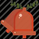 bell, bells, celebration, marriage, ringing, romantic, wedding icon