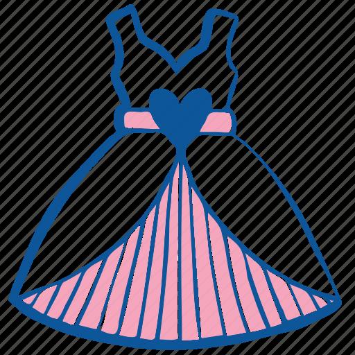 bride, clothes, dress, fashion, style, wedding, woman icon