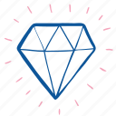 diamond, engagement, gem, gemstone, jewelry, stone, wedding icon