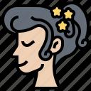 adorn, barrette, hairclip, pretty, woman