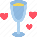 bride, champagne, couple, flute, groom, marriage, wedding icon