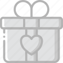 bride, couple, gift, groom, marriage, wedding icon