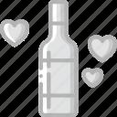 bride, couple, groom, marriage, toast, wedding icon