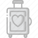 bride, couple, groom, honeymoon, marriage, wedding icon