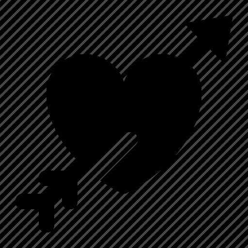 Arrow, cupid, heart, love, valentine icon - Download on Iconfinder