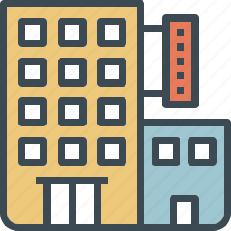 hotel, resident, room, service, wedding icon
