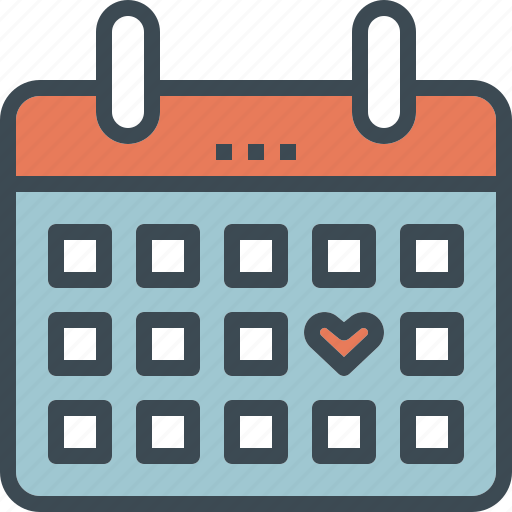 calendar, date, day, guardar, save, the, wedding icon