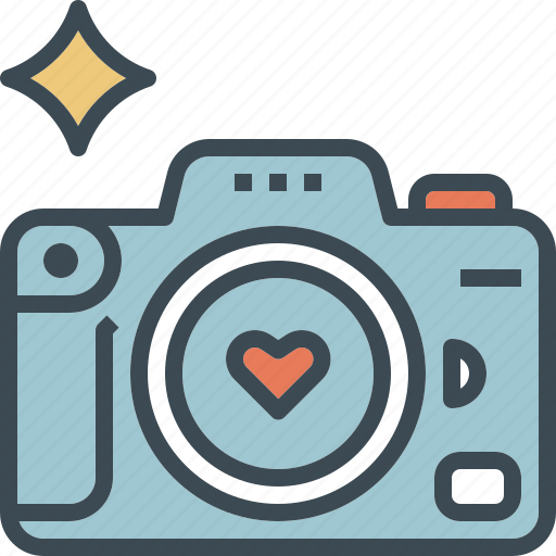 camera, love, photo, photography, wedding icon