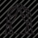 arc, love, wedding icon