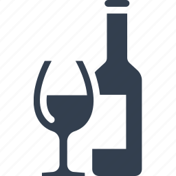 alchool, bottle, drink, drunk, glass, holiday, party, shampane, wedding, wine icon