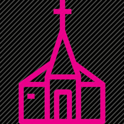 building, christ, church, cross, wedding icon icon