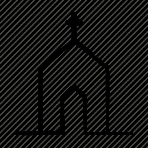 building, church, city, house icon