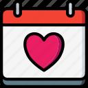 bride, couple, date, groom, marriage, wedding icon