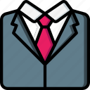 bride, couple, groom, marriage, suit, wedding icon