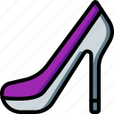 bride, couple, groom, marriage, shoe, wedding icon