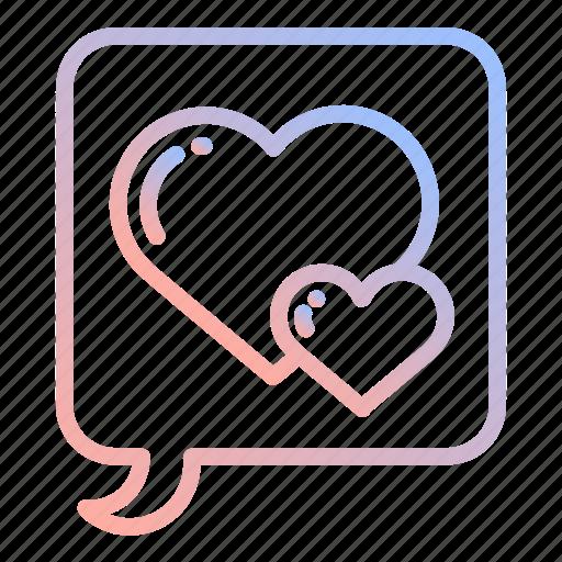 couple, heart, love, marriage, romance, valentines, wedding icon
