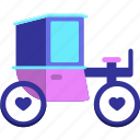 brougham, carriage icon