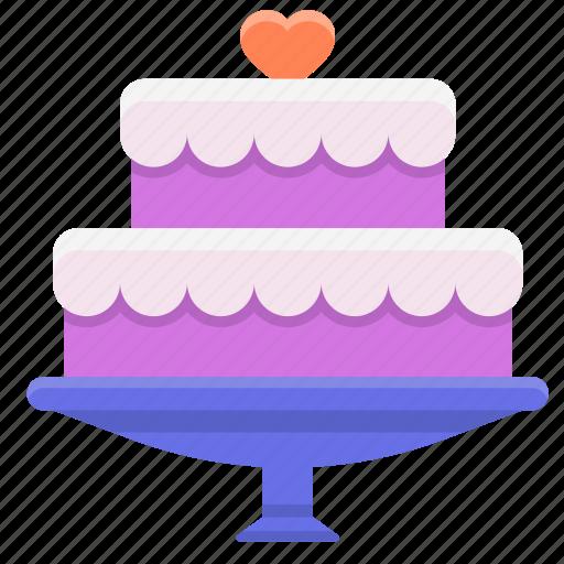 birthday cake, cake, wedding cake icon