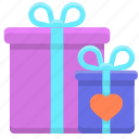 giftboxes, gifts, presents icon